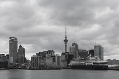 Auckland city and harbor, New Zealand Royalty Free Stock Photo