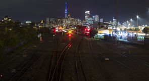 Auckland City Lights Stock Images