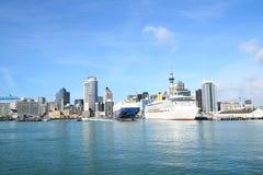 Auckland city, New Zealand royalty free stock photos