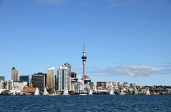 Auckland City, New Zealand by Day 6 Royalty Free Stock Image