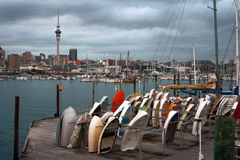 Auckland city in New Zealand Royalty Free Stock Photography