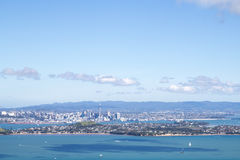 Auckland city skyline Stock Images