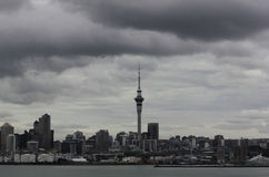 Auckland city skyline Royalty Free Stock Image