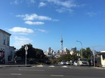 Auckland city skyline New Zealand Royalty Free Stock Image