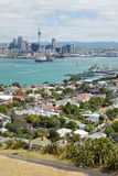 Auckland city skyline view. Auckland is the largest and most populated city in New Zealand, with a population of over one million Stock Photography