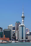Auckland City with Skytower Stock Photos