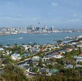 Auckland City vew from Mount Victoria, Devonport Royalty Free Royalty Free Stock Photos