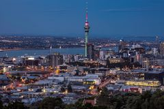 Auckland city view Stock Photo
