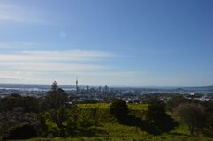 Auckland City - Volcano Crater Mount Eden Domain Stock Image