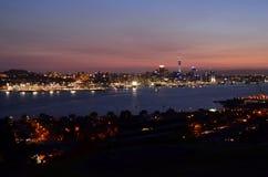 Auckland Cityscape Arkivbilder