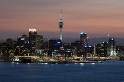 Auckland Cityscape Arkivfoto