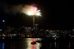 Auckland Cityscape Royaltyfri Foto