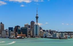 Auckland cityscape Arkivfoton
