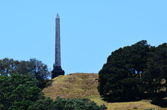 Auckland Cityscape - One Tree Hill Stock Photography
