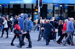 Auckland Cityscape - Queen Street Stock Image
