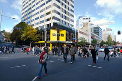 Auckland Cityscape - Queen Street Stock Photos