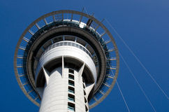 Auckland Cityscape - Sky Tower Royalty Free Stock Photography
