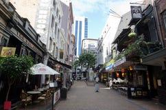 Auckland Cityscape - Vulcan Lane Stock Photography