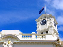 Auckland Clock Tower 2 Royalty Free Stock Images
