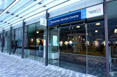 Auckland Council customer service centre - New Zealand. AUCKLAND - AUG 21 2015:Auckland Council customer service centre.It's the largest council in Australasia stock image