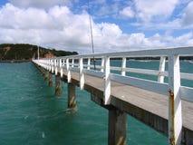 auckland dock arkivfoton