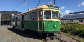 Auckland Dockline Wynyard Quarter Tram Royalty Free Stock Image