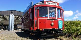 Auckland Dockline Wynyard Quarter Tram Stock Image