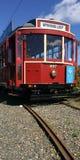 Auckland Dockline Wynyard Quarter Tram Royalty Free Stock Images