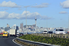 Auckland downtown skyline - New Zealand Stock Image