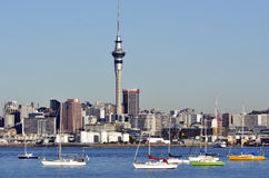 Auckland downtown skyline - New Zealand Royalty Free Stock Photo