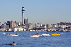 Auckland downtown skyline - New Zealand Royalty Free Stock Image