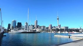 Auckland downtown skyline Stock Photo