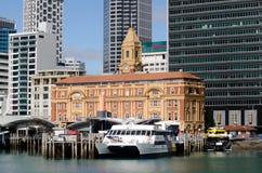 Auckland-Fährhafen Stockbild