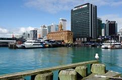 Auckland färjaterminal Arkivbilder