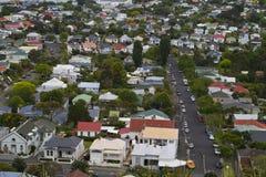 Auckland förort Arkivbild