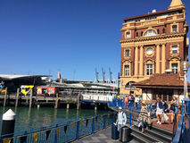 Auckland Ferry Terminal New Zealand Stock Photography