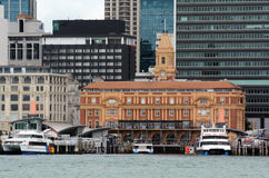 Auckland Ferry Terminal - New Zealand Royalty Free Stock Photography