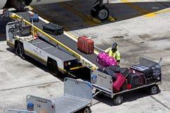 Auckland-Flughafen - Neuseeland Lizenzfreie Stockbilder