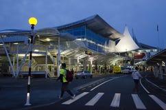Auckland-Flughafen - Neuseeland Lizenzfreies Stockfoto