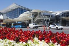 Auckland flygplats - Nya Zeeland Royaltyfria Bilder
