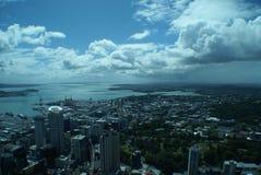 Auckland från himlen Royaltyfria Bilder