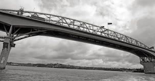 Auckland-Hafen-Brücke - Neuseeland Stockfoto