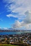 Auckland hamn Fotografering för Bildbyråer