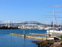 Auckland Harbor Bridge Stock Image