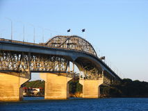 Auckland Harbor Bridge Stock Images