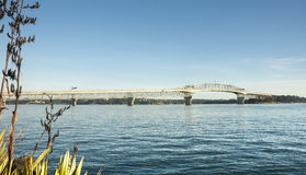 Auckland Harbor Bridge. Stock Photography