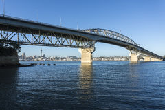 Auckland Harbor Bridge Royalty Free Stock Photos