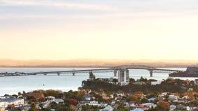Auckland Harbor Bridge Stock Photos