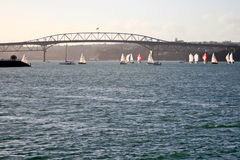 Auckland Harbor Bridge Royalty Free Stock Photography