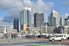 Auckland Harbor, New Zealand Royalty Free Stock Image